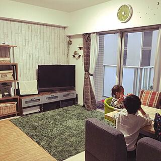 女性31歳の家族暮らし2LDK、うちの壁紙はこれ!に関するyuucyakuuuさんの実例写真