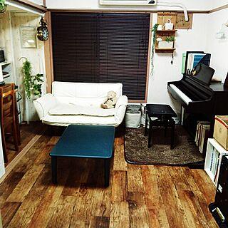 女性家族暮らし2DK、和室を洋室に 途中に関するsoraさんの実例写真