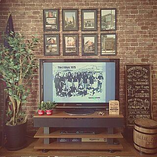 男性1LDK、Brick wallに関するkatsuさんの実例写真