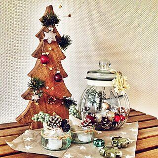 机/クリスマス/フェイクグリーン/星/星形好き♡...などのインテリア実例 - 2014-11-20 18:59:22