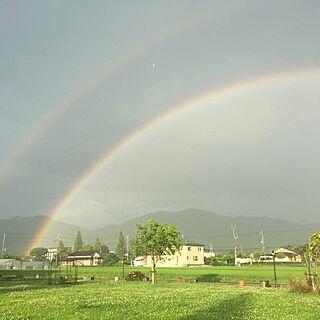 女性37歳の家族暮らし、虹??に関するmarikaさんの実例写真
