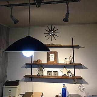 棚/サリュ!雑貨/niko and…の写真立て/セリアの雑貨/ニトリの時計...などのインテリア実例 - 2017-11-27 17:02:34