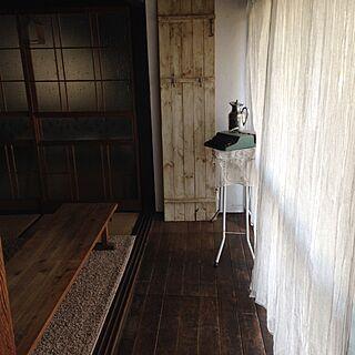 玄関/入り口/DIY/古民家/日本家屋/アンティーク...などのインテリア実例 - 2016-02-10 18:44:19