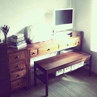 机/Mac/Macのある部屋/アトリエ/ベンチ/SOHO...などのインテリア実例 - 2013-01-24 16:11:35