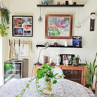 部屋全体/観葉植物/グリーンのある生活/リノベーション/マンションリノベ...などのインテリア実例 - 2020-02-17 11:24:09