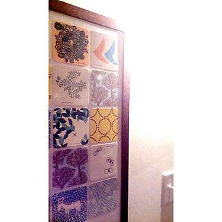 女性家族暮らし3LDK、ドイツ漆喰に関するTeaLyricさんの実例写真