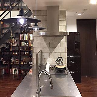 キッチン/本/照明/階段下/階段...などのインテリア実例 - 2017-10-26 18:27:34