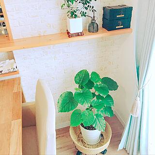 女性家族暮らし4LDK、ボックス収納に関するgajyumaruさんの実例写真
