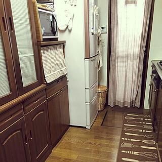 女性49歳の家族暮らし4LDK、キッチンミトンに関するnariiiさんの実例写真