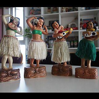 棚/ビンテージハワイ/ビンテージフラドール/ハワイ大好き/ミッドセンチュリー...などのインテリア実例 - 2015-05-24 19:15:41