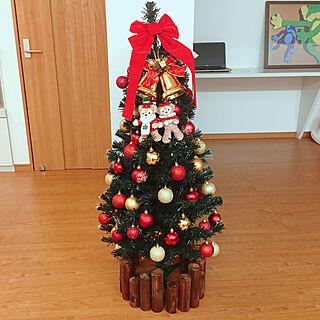 リビング/いいね&フォローありがとうございます☆/トイザらス/120cm/クリスマスツリー...などのインテリア実例 - 2018-11-13 19:37:21