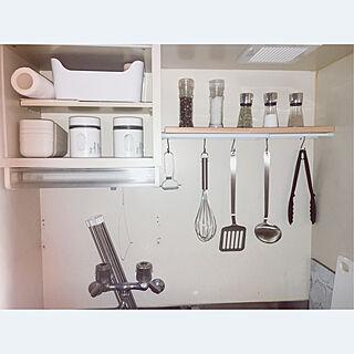 女性一人暮らし1K、調理器具に関するysnaさんの実例写真