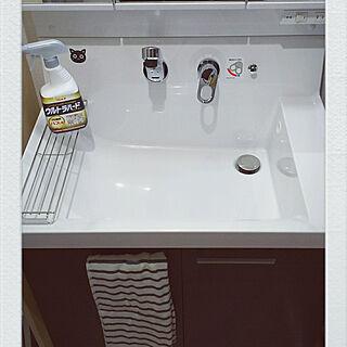 女性家族暮らし4LDK、洗面台に関するkojikojiさんの実例写真