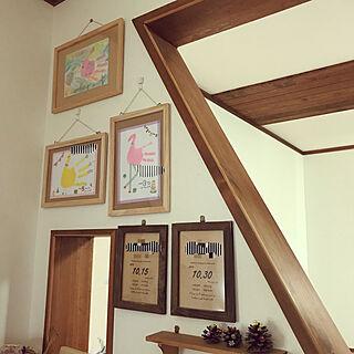 家族暮らし、アートフレームに関するhi_yu_mama123さんの実例写真