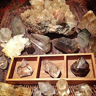 リビング/鉱物/自慢のコレクション/コレクション/鉱石/天然石のインテリア実例 - 2012-06-28 20:56:26