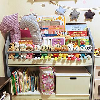 家族暮らし、アンパンマンのおもちゃに関するmirichipeさんの実例写真