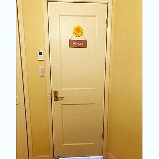 わが家のドア/新築/雑貨/キャンドゥ/壁/天井のインテリア実例 - 2020-09-28 21:17:51