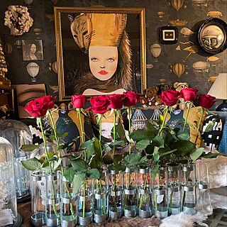 花のある暮らし/巴里のアパルトマン/マンションインテリア/アート/アートと暮らす部屋...などのインテリア実例 - 2021-04-25 20:04:11