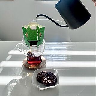 カフェベロナ/コーヒーのある暮らし/コーヒータイム/スターバックス/おうちカフェ...などのインテリア実例 - 2021-02-06 11:54:59