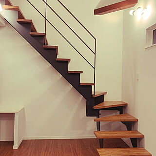 階段/リビング/スチール階段のインテリア実例 - 2020-02-18 17:31:51