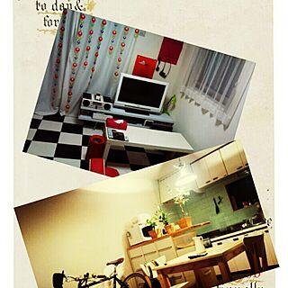 部屋全体/IKEA/引っ越しのインテリア実例 - 2014-03-25 22:48:59