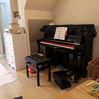 リビング/アップライトピアノのインテリア実例 - 2020-02-21 23:08:47