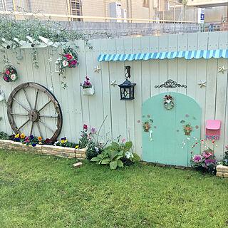 女性家族暮らし、ニトリ 造花に関するavocadoさんの実例写真