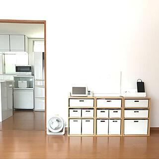 女性35歳の家族暮らし4LDK、リビングチェストに関するasukanさんの実例写真