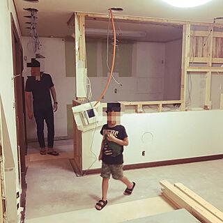 女性33歳の家族暮らし、中古物件に関するyukiさんの実例写真