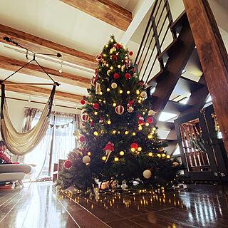 リビング/クリスマス2020/クリスマス/クリスマス仕様/クリスマスツリー210㎝...などのインテリア実例 - 2020-11-15 23:47:47