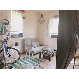 スクリーン/ブラインド/ソファ/自転車/男部屋...などのインテリア実例 - 2020-03-30 12:10:28