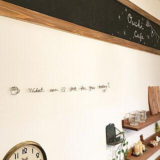 壁/天井/黒板DIY/英文字/英文/ワイヤークラフト初心者...などのインテリア実例 - 2018-09-19 07:23:51