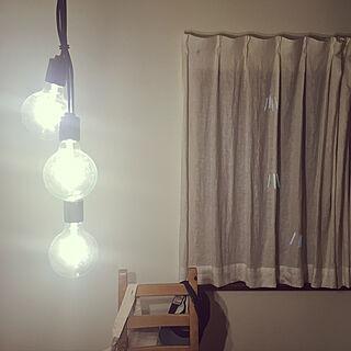 リビング/明るすぎ/ダイニング/照明のインテリア実例 - 2017-08-21 00:32:47