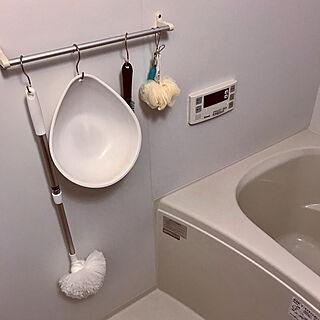 女性22歳の一人暮らし1LDK、S字フック 風呂椅子に関するAyaさんの実例写真