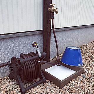 立水栓/ホース/イシンホーム/玄関/入り口のインテリア実例 - 2019-04-29 17:04:29