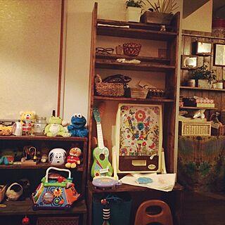 女性34歳の家族暮らし4LDK、パチンコやスロットがある部屋に関するayabo912さんの実例写真