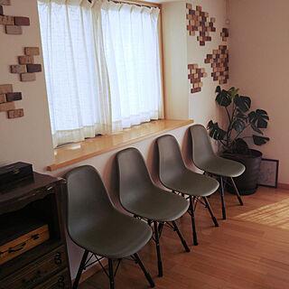 女性家族暮らし、出窓を椅子に…に関するhaniwaさんの実例写真