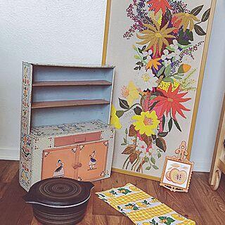 女性家族暮らし、オモチャのキッチンに関するJayceeさんの実例写真