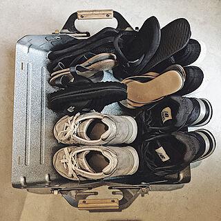 女性家族暮らし2LDK、靴に関するyuuさんの実例写真