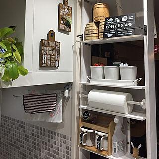 女性の、Other、家族住まいの「棚」についてのインテリア実例