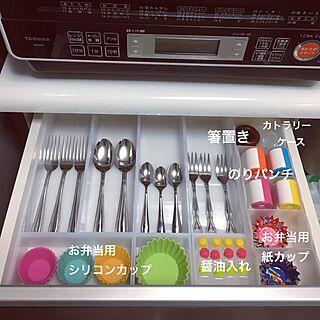 女性34歳の家族暮らし3LDK、カトラリー大好き♡に関するanko.hibuさんの実例写真