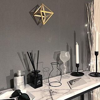 棚/モノトーン/IKEA/一人暮らし/北欧...などのインテリア実例 - 2019-01-15 00:05:36