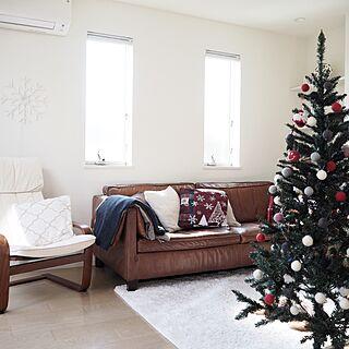リビング/LEDライト/ニトリ/クリスマスディスプレイ/クリスマスツリー...などのインテリア実例 - 2016-11-07 20:00:28