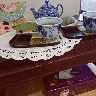 机/こどもの日/和菓子/緑茶/急須...などのインテリア実例 - 2021-04-20 14:03:58