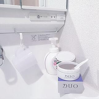 DUO/クレンジング/スキンケア/メイクスペース/洗面所...などのインテリア実例 - 2020-08-08 16:09:33