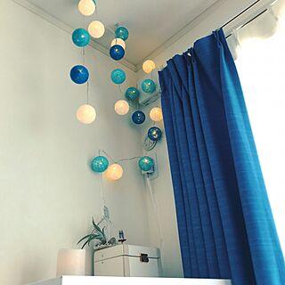 女性30歳の同棲1LDK、ベッドと照明が到着しました。に関するCananさんの実例写真