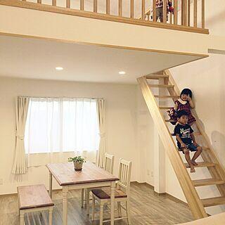 部屋全体/弟家族の家です/2世帯リフォームのインテリア実例 - 2017-05-30 09:00:47
