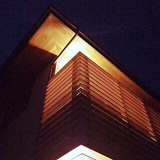 玄関/入り口/夜/雑木の庭/庭/照明...などのインテリア実例 - 2014-08-22 22:23:33