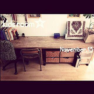 無印良品/鉛筆削り/IKEA/子供部屋/モンステラ...などのインテリア実例 - 2014-11-13 12:45:42