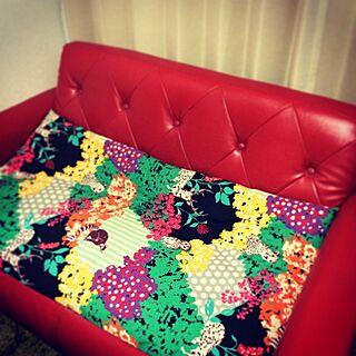 女性32歳の家族暮らし、Textilesに関するsako_oさんの実例写真
